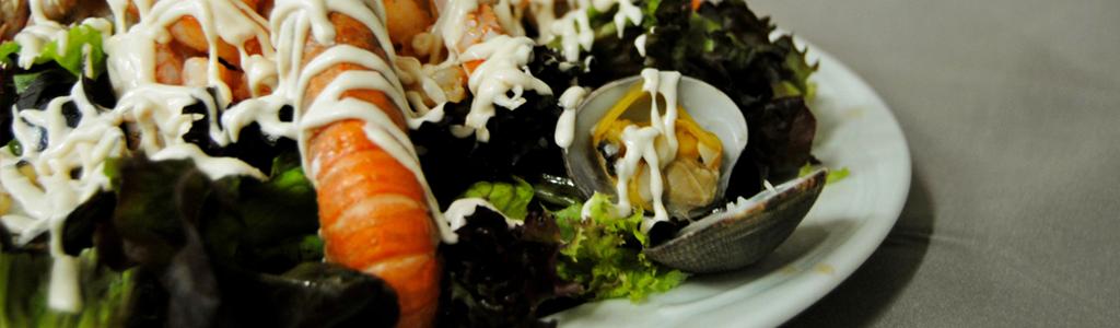 entrantes frios y ensaladas restaurante