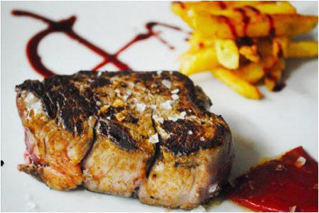 Carnes del menú de Carta
